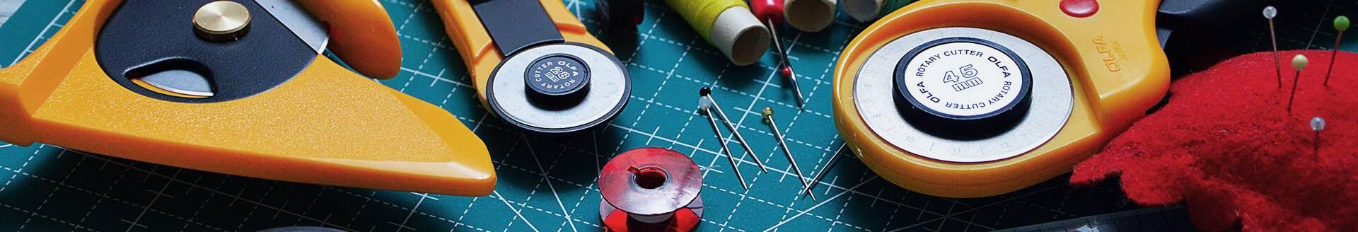 Venta online herramientas de corte para costura, bordado y patchwork